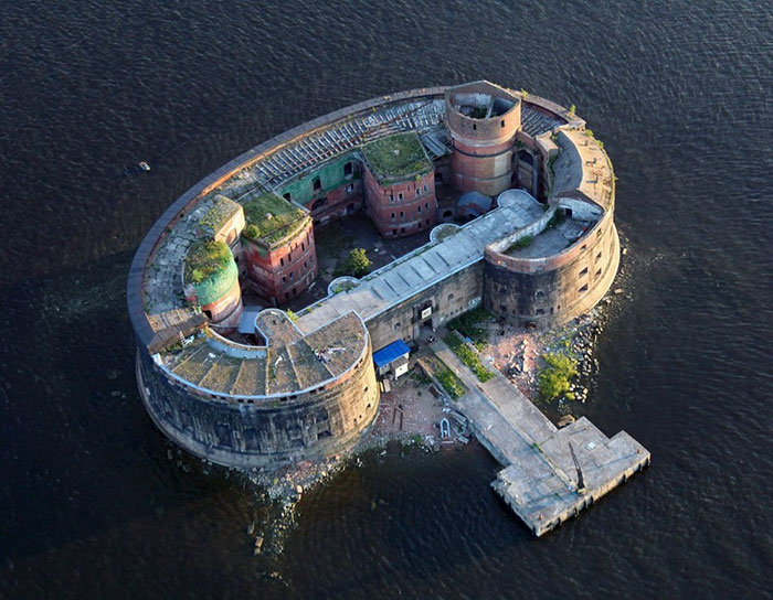 Fort Alexander (Plague Fort), Saint Petersburg, Russia