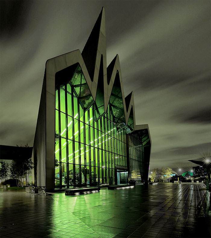 Riverside Museum, Glasgow, UK